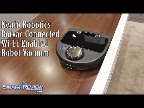 IHHS 2016 | Neato Robotics BotVac Connected | Robot Vacuum with WiFi | International Home Show