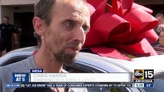 Mesa veteran with cancer given a donated car