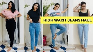 HIGH WAIST JEANS FOR EVERY GIRL - AJIO | RAKHI SINGH