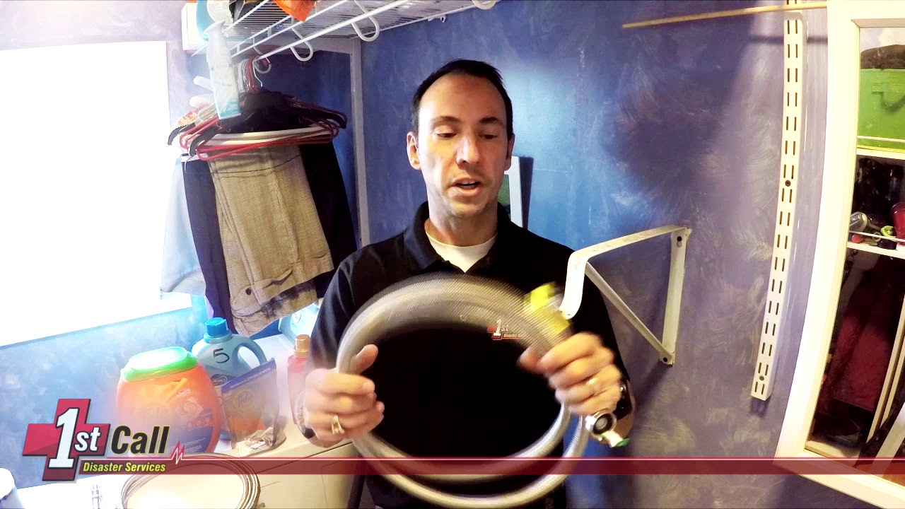 How to change a washer hose