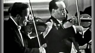Bach Double Violin Concerto - Yehudi Menuhin And David Oistrakh.
