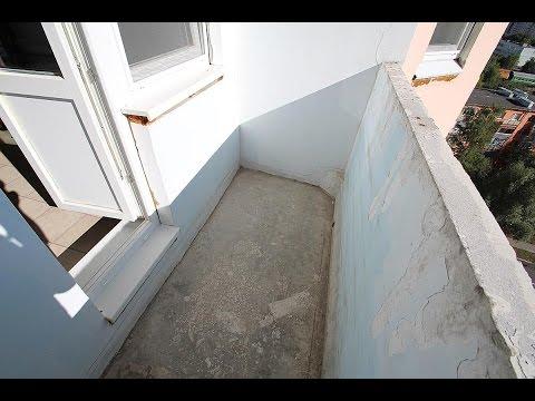 Максимус окна - ремонт типовой лоджии в девятиэтажном доме
