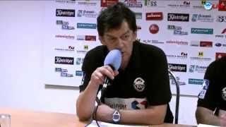 preview picture of video 'Pressekonferenz - ThSV Eisenach vs. SV Henstedt-U. 38:30 (23:15)'