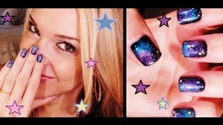 How To: Galaxy Nails!!!