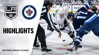Kings @ Jets 10/22/19 Highlights