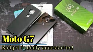Moto G7 - Budget friendly accessories on Amazon!