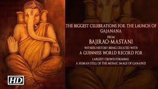 Gajanana | Bajirao Mastani | Song Launch by Ranveer & Deepika Padukone