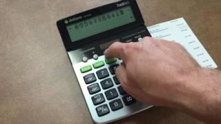 TRACKBACK 2 Line Business Calculator