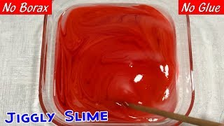 Recipe for slime without borax or contact solution