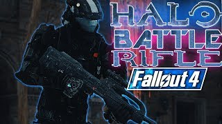 Fallout 4 - BR77 - HALO Battle Rifle 77