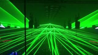Qlimax Equilibrium 2015 Show laser