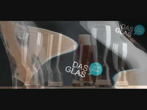 DasGlas Weizenbier Glas mit knick