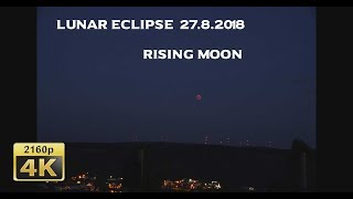 Lunar Eclipse, Moselle Valley 2018/07/27 - Germany 4K Travel Channel