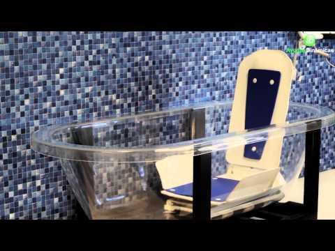 Elevador eléctrico de bañera BATH MASTER Ayudas Dinámicas AD590