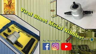 Facebook Viral Sheet Metal Nibbler Drill Attachment - NOW UNDER $10! - Product Review