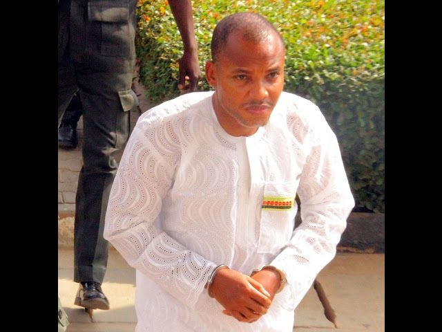 Nnamdi Kanu Praying On Radio Biafra
