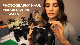 My Photography EQUIPMENT - Indoor Lighting System & How It Works!