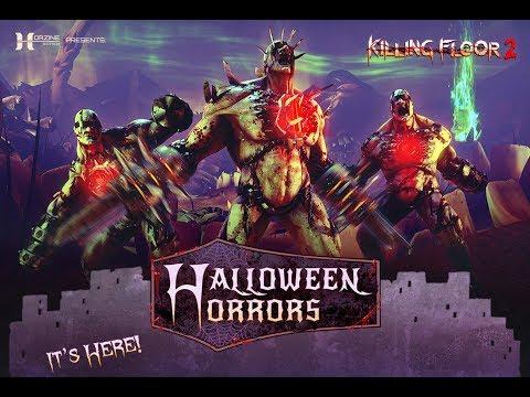Killing Floor 2 - Halloween speciál! LiveStream záznam [12. 10. 2018]