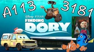 """All """"Finding Dory"""" Easter Eggs REVEALED!"""