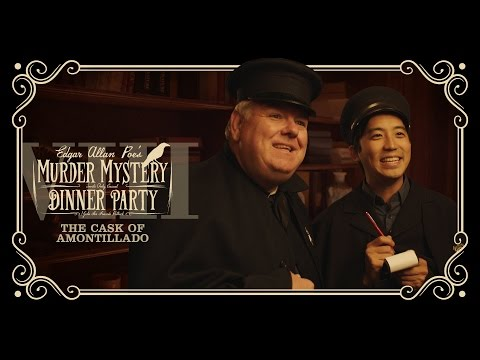 Sud vína amontillanského - Murder Mystery Dinner Party (S01E08)