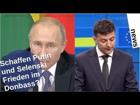 Schaffen Putin und Selenski Donbass-Frieden? [Video]