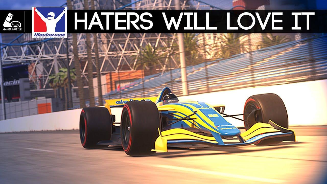 GamerMuscle: iRacing Dallara iR-01 Drives Real Nice!