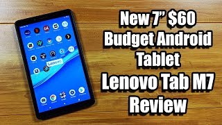 "Lenovo Tab M7 Review New 7"" $60 Budget Android Tablet"