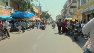 M.G. Road in Pondicherry