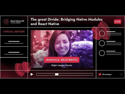 Image thumbnail for talk The great Divide: Bridging Native Modules And React Native