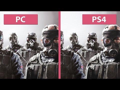Rainbow Six Siege – PC vs. PS4 Graphics Comparison (Closed Beta) [FullHD][60fps]
