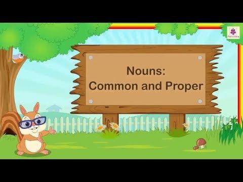 Nouns - Common And Proper   English Grammar & Composition Grade 3   Periwinkle