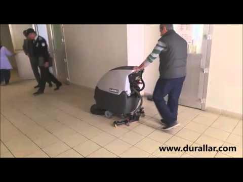Akülü Zemin Temizlik Robotu, Akülü Yer Yıkama Robotu
