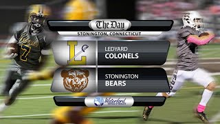 Watch live: Ledyard at Stonington football