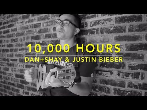 10,000 Hours - Dan + Shay & Justin Bieber (Ukulele Cover) - Play Along