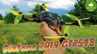 ✔ Гоночный FPV Квадрокоптер Diatone 2019 GTR548 - Слишком Быстрый для Тебя!