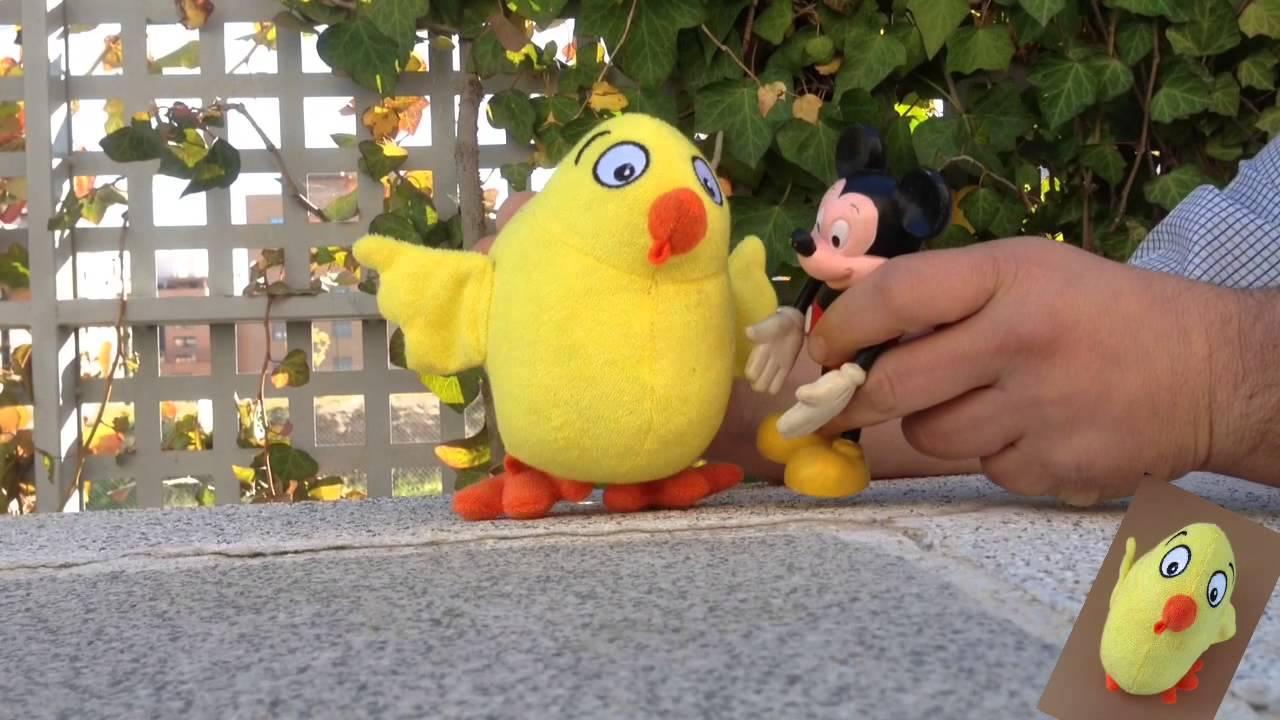 El Pollo Pepe y Micky Mouse te enseñan: Pican, Pican, pican pican pican.