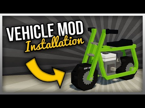 ✔️ How to Install MrCrayfish's Vehicle Mod for 1.12.2