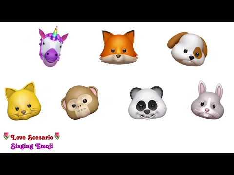 [Animoji Karaoke] Emoji Singing 'Love Scenario (사랑을 했다)' -- iKon | With Lyrics!