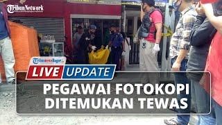 LIVE UPDATE Pegawai Fotokopi Ditemukan Tewas di Jalan Sindang Barang Jero Bogor Barat