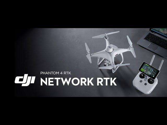 Lækker DJI Phantom 4 RTK - Industri EE-77
