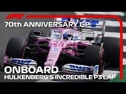 F1 2020 第5戦イギリスGP(70周年記念グランプリ) 3番手のニコ・ヒルケンベルグ(RacingPoint)のオンボード映像
