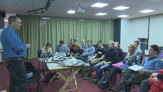 Фотографы Юрий Смитюк и Виталий Аньков в ДВФУ