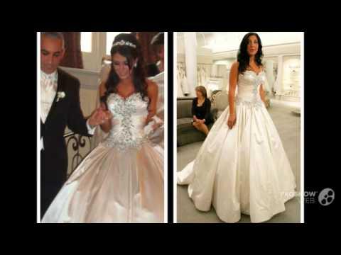 New Wedding Dresses 2016 Sweetheart Crystal Beading Pearls Taffeta Ball Gown Bridal Dresse