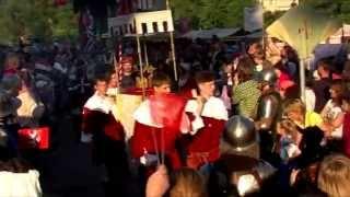 SHŠ Allgor - Uvítání císaře Karla IV. - Dobřichovice 2014