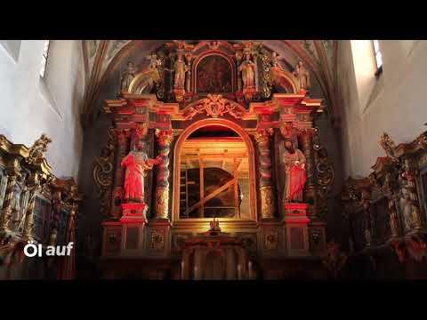 Altarbild-Wechsel in der Basilika Steinfeld