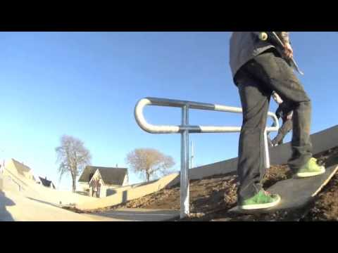 Yarmouth, Nova Scotia.  New Skate Park - November 2012