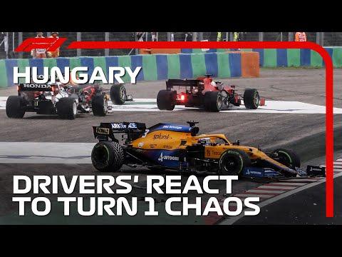 ボッタスがやらかした1コーナーの大クラッシュの衝撃映像。F1第11戦ハンガリーGP(ブタペスト)