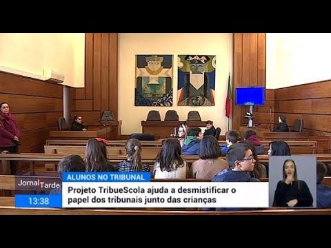 Projeto TRIbueSCOLA ajuda a desmistificar o papel dos tribunais junto das crianças