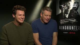 Jonathan Groff & Holt McCallany - Mindhunter Interview