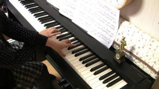 """「楓」 スピッツ ピアノ """"Kaede""""  Spitz  Piano"""
